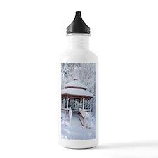 Gazebo surround by sno Water Bottle