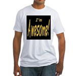 Awesome Designs Fitted T-Shirt