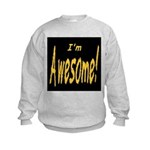 Awesome Designs Kids Sweatshirt