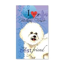 bichon-kindle Wall Decal
