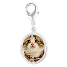 princesskitten_apparel_kids Silver Oval Charm