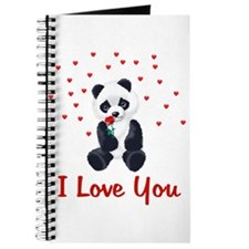 Panda Bear Love Journal