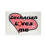 zechariah loves me Rectangle Magnet