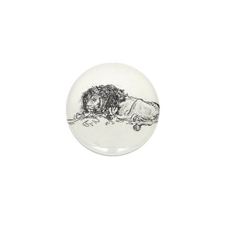 Lion Sketch Mini Button (10 pack)