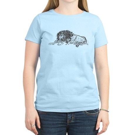 Lion Sketch Women's Light T-Shirt