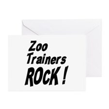 Zoo Trainers Rock ! Greeting Cards (Pk of 10)