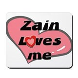 zain loves me  Mousepad