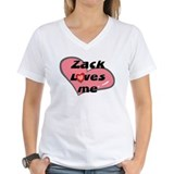 zack loves me Shirt