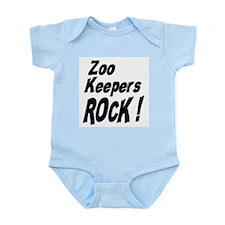 Zoo Keepers Rock ! Infant Bodysuit