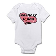 zachery loves me  Infant Bodysuit