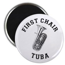 First Chair Tuba Magnet