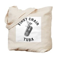 First Chair Tuba Tote Bag