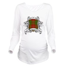 Burnett Tartan Shield Long Sleeve Maternity T-Shir