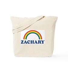 ZACHARY (rainbow) Tote Bag