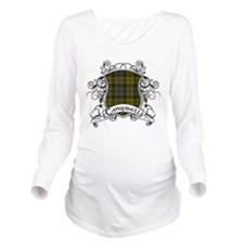 Campbell Tartan Shie Long Sleeve Maternity T-Shirt