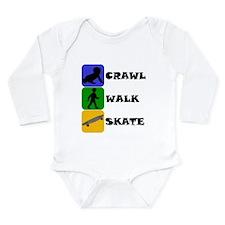 Crawl Walk Skate Body Suit