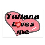 yuliana loves me  Postcards (Package of 8)