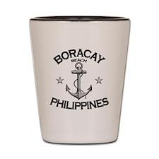 BORACAY BEACH PHILIPPINES copy Shot Glass