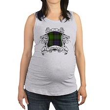Gordon Tartan Shield Maternity Tank Top
