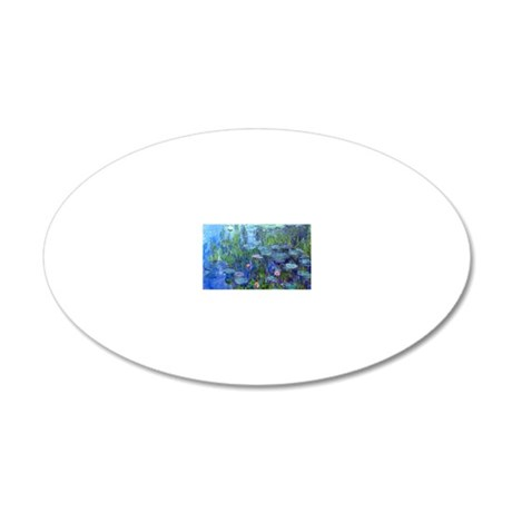 Famous 44 20x12 Oval Wall Decal