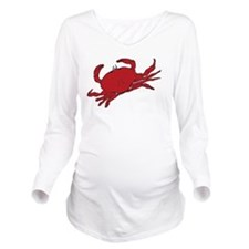 got butter BW Long Sleeve Maternity T-Shirt