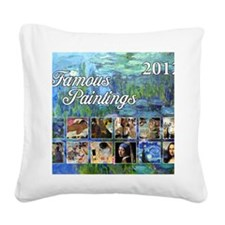 Famous Cover Square Canvas Pillow