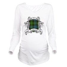 Lamont Tartan Shield Long Sleeve Maternity T-Shirt