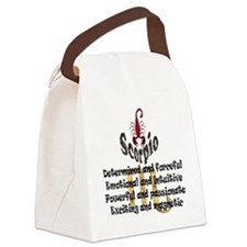 scorpio Canvas Lunch Bag
