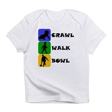 Crawl Walk Bowl Infant T-Shirt