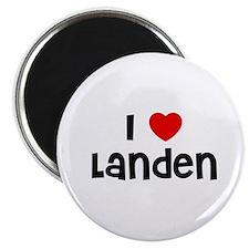 """I * Landen 2.25"""" Magnet (10 pack)"""