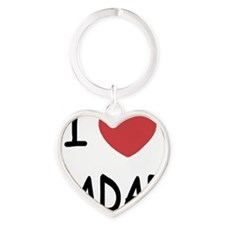 RADAR Heart Keychain