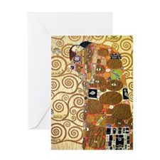Klimt 24 Greeting Card