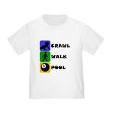 Crawl Walk Pool T-Shirt