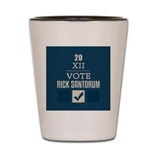 nov_vote_conservative_rs Shot Glass