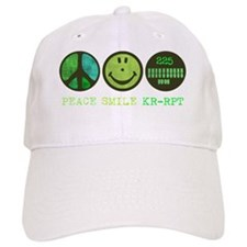peace_smile_reporter_1 Baseball Cap