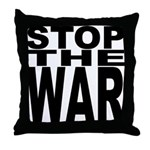 Stop The War Throw Pillow