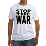 Stop The War Fitted T-Shirt