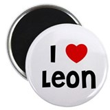 I * Leon 2.25&quot; Magnet (10 pack)