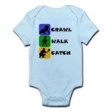 Crawl Walk Catch Body Suit