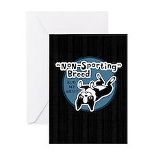 bostonnonsportipad Greeting Card