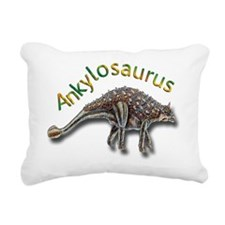 Ankylosaurus Rectangular Canvas Pillow