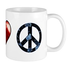 peace love spn mirror Mug