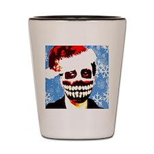 Monster Christmas Shot Glass