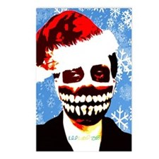 Monster Christmas Postcards (Package of 8)
