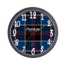 Dunlop Clan Wall Clock