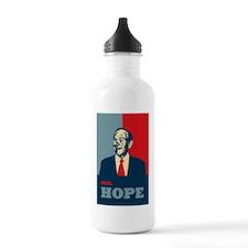 RonPaulRealHope1poster Water Bottle