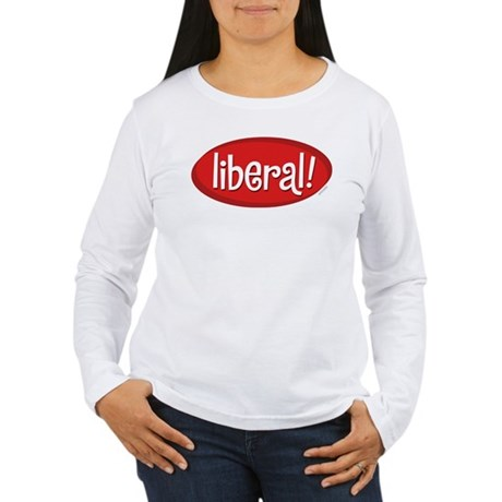 Liberal Womens Long Sleeve T-Shirt