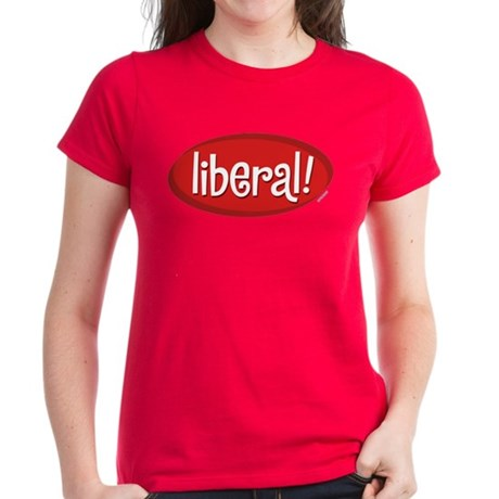 Liberal Womens Red T-Shirt