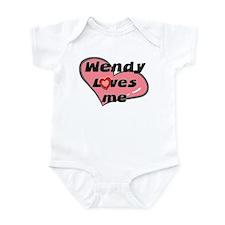 wendy loves me  Onesie