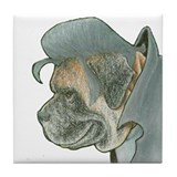 """Mastiff"" Presley - Tile or Coaster"